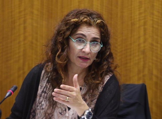 María Jesús Montero, hoy en comisión parlamentaria