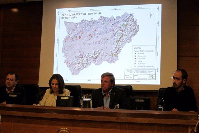 Balance de la actuación del Plan Infoca en Jaén en lo que va de 2017.