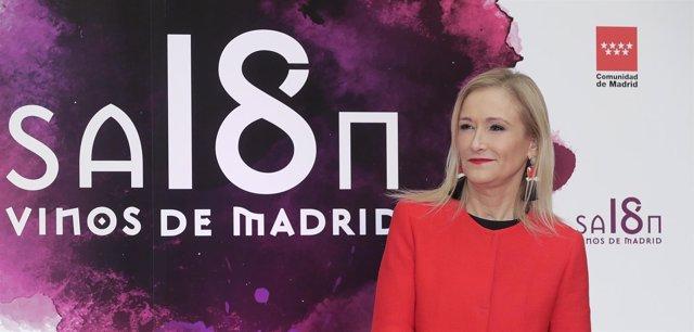 Cifuentes Asiste Al Salón De Los Vinos De Madridla Presidenta De La Comunidad De