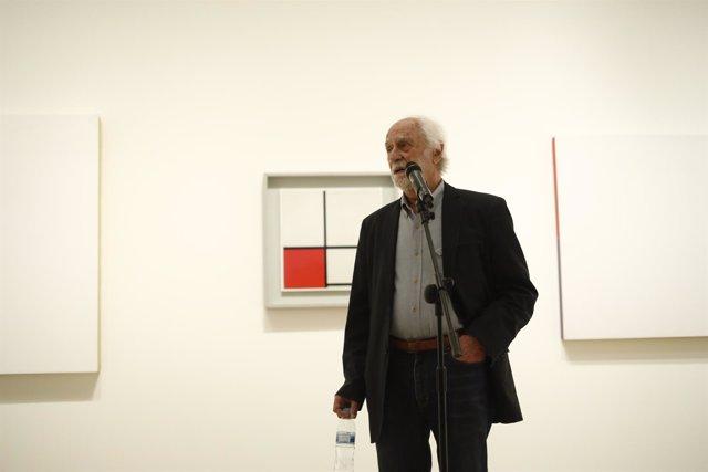 Presentación de la exposición Hacia una pintura objetual de César Paternosto