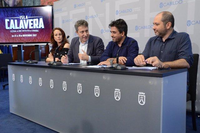 Nota De Prensa Y Fotografías: Cultura I Festival Cine Fantástico Isla Calavera