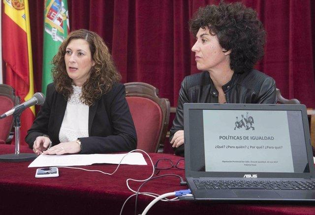 La diputada de Igualdad, Isabel María Moya