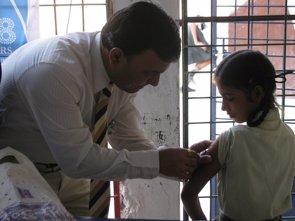 La vacunación contra la rubeola, asignatura pendiente en 42 países (FLICKR/ROTARY CLUB OF NAGPUR)