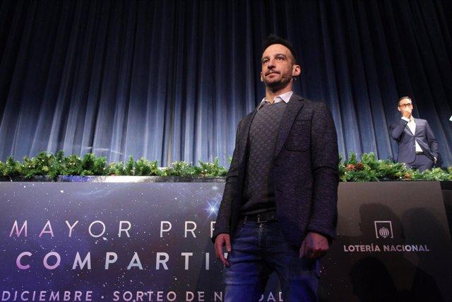 Alejandro Amenábar en la presentación del Sorteo de Navidad 2017