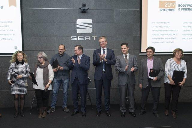 Seat entrega los premios Inventors Awards