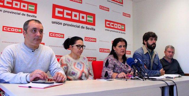 CCOO anuncia huelga en la ayuda a domicilio.