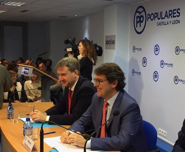 El presidente del PP de Castilla y León, Alfonso Fernández Mañueco