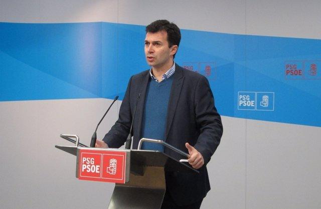 El secretario xeral del PSdeG, Gonzalo Caballero