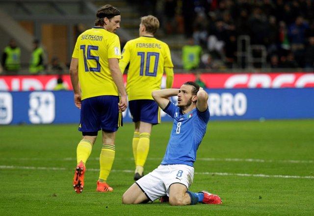 SAlessandro Florenzi Italia Suecia fuera Mundial eliminada