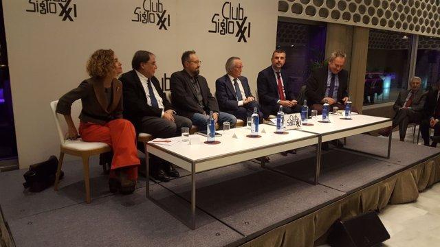 Santi Vila, Juan Carlos Girauta, Josep Piqué y Maritxe Batet en el Siglo XXI