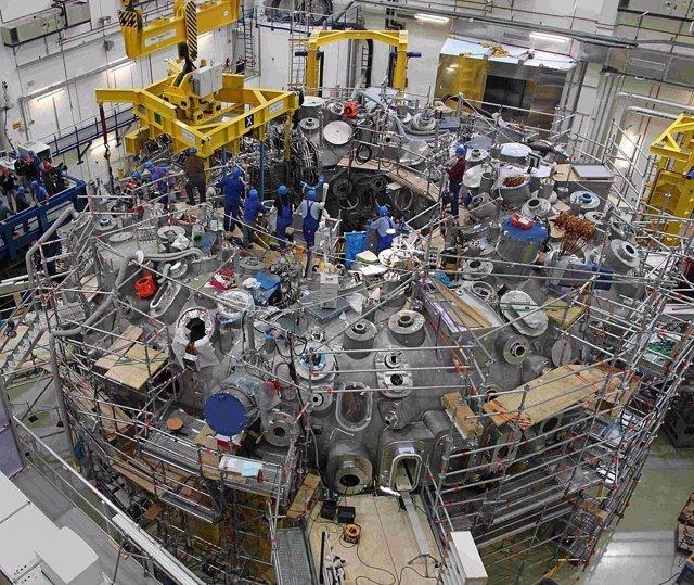 Reactor de fusión prorotipo en construcción