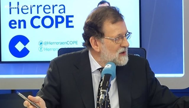 Rajoy en la cadena Cope