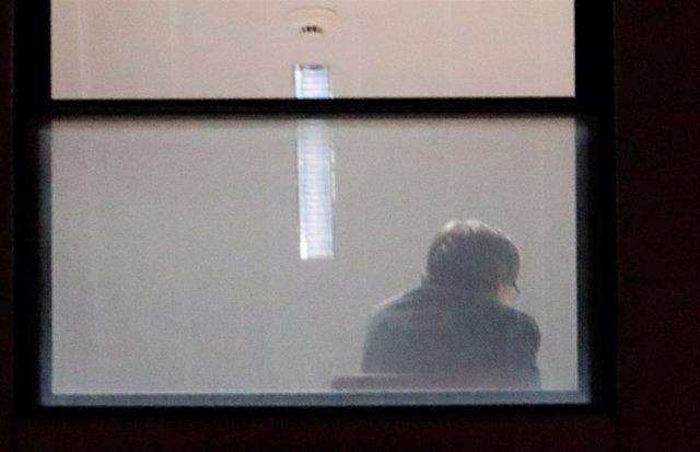 Puigdemont, en el interior de la Fiscalía belga
