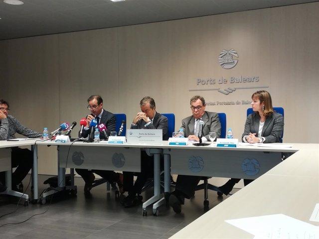 Por cada 100 euros de la actividad de los cruceros se generan 111 euros en otros sectores, según la APB