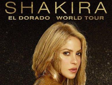 Shakira ajorna el seu gira europea per al 2018 (LIVE NATION)