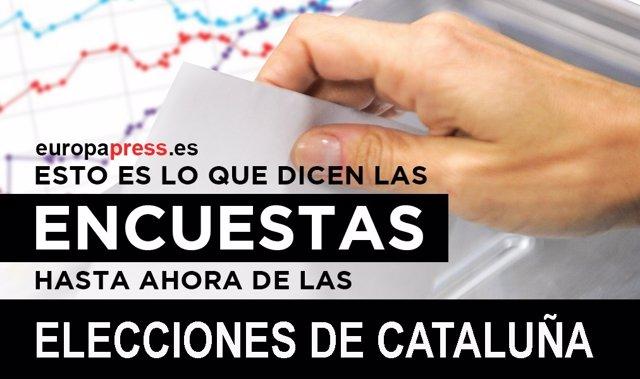 Encuestas elecciones de Cataluña 2017