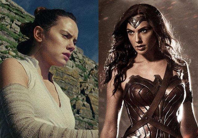 Rey y Wonder Woman