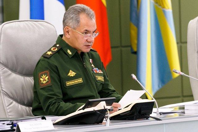 El ministro de Defensa ruso, Sergei Shoigu