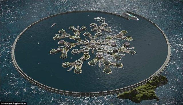 Proyecto de ciudad flotante