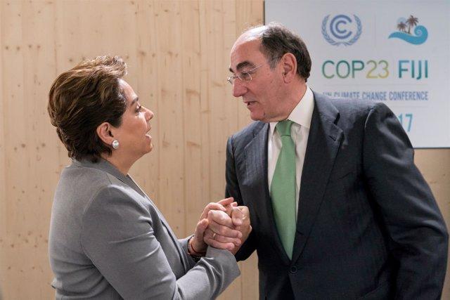 """Ignacio Galán, En La Cumbre Del Clima De Bonn: """"Ha Pasado El Momento De Hablar Y"""