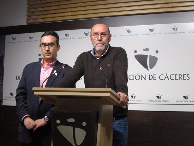 Miguel Salazar, diputado de Personal de la Diputación de Cáceres