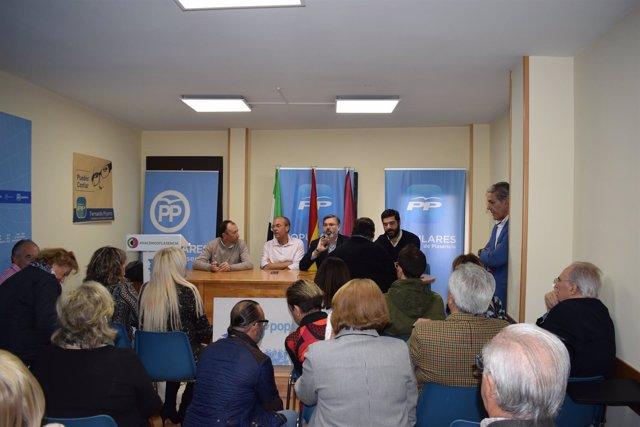 Nota De Prensa Y Fotografías Pp Extremadura