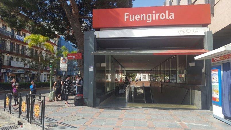 El PSOE de Málaga reclama inversiones en mejoras de la accesibilidad en el Cercanías en Fuengirola