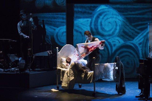 N.P.Tiger Lillies Estrena En España, En El Teatro Central, Una Pieza ,Negra Y Su