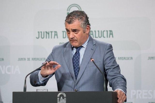 Javier Carnero, este martes
