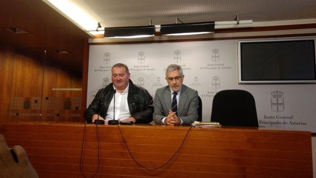 Ramón Argüelles y Gaspar Llamazares.