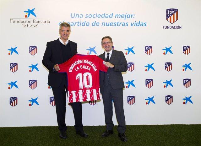 Miguel Ángel Gil Marín y Jaume Giró