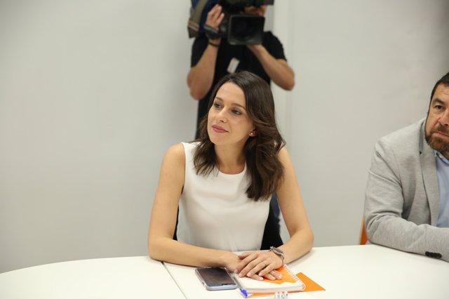 Inés Arrimadas al Comitè Executiu Nacional de Ciudadanos