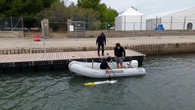 Robot subaqüàtic de la UdG