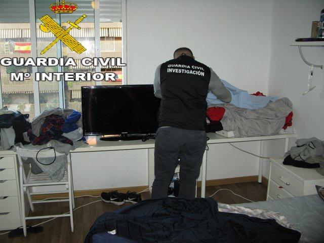 Actuació de la Guàrdia Civil a Picassent