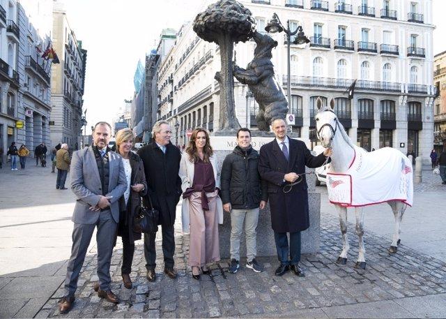 Asistentes a la presentación de Madrid Horse Week