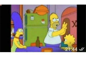 Corta con su novio enviándole memes de Los Simpson y se vuelve viral en Argentina