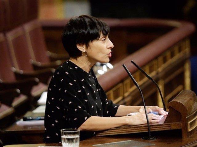 La diputada socialista Rocío de Frutos, en el Pleno del Congreso