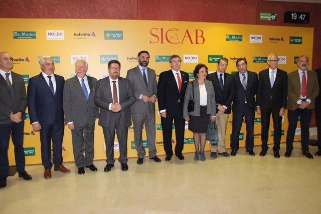 Inauguración de Sicab en Fibes