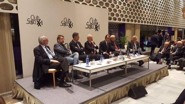 Debate con Artur Mas, José Montilla, Xavier García Albiol y Xavi Domènech