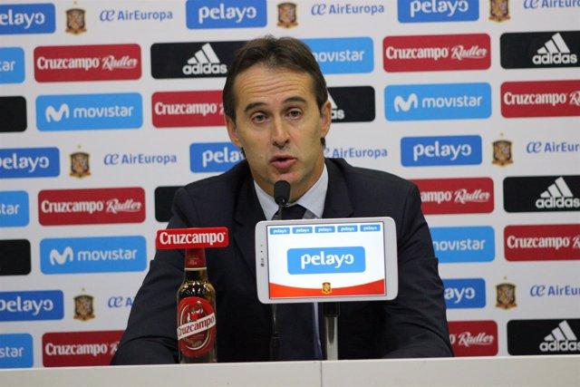 Julen Lopetegui (Selección Española de Fútbol)