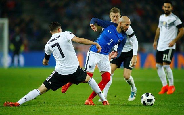 Alemania y Francia empatan en un amistoso en Colonia