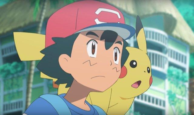Ash Ketchum y Pikachu en Pokemon