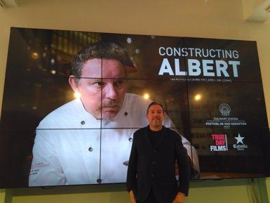 Un documental presenta per primera vegada un retrat íntim del cuiner Albert Adrià (EUROPA PRESS)