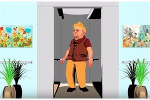Este truco puede salvar tu vida: ¿Qué hacer para no morir en un ascensor en caída libre?