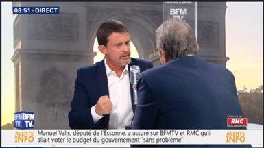 """Manuel Valls, disposat a fer campanya com a """"patriota europeu"""" i avisant que """"el nacionalisme és la guerra"""" (Europa Press)"""