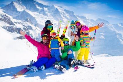 Viajes de esquí en familia