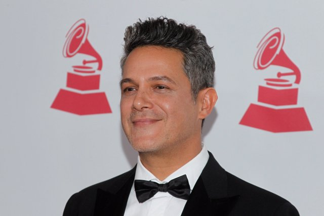 Alejandro Sanz at arrivals for The Latin Recording Academy's 2017 Person of the