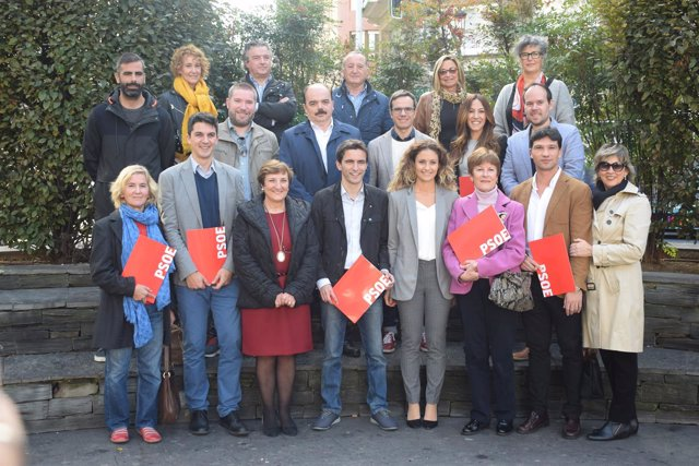 Candidatura de Casares a la Ejecutiva Municipal del PSOE de Santander