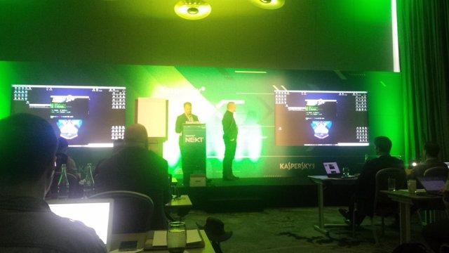 Evento Kaspersky NEXT en Dublín