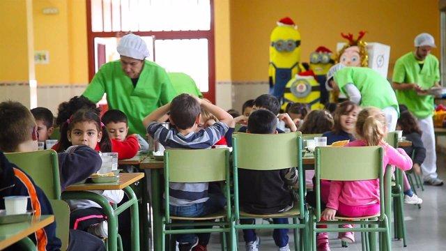 Hasta 3 de cada 4 comedores escolares ofrecen ya menús saludables